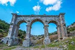 Ariassus or Ariassos  was a town in Pisidia, Asia Minor built on a steep hillside about 50 kilometres inland from Attaleia (modern Antalya).