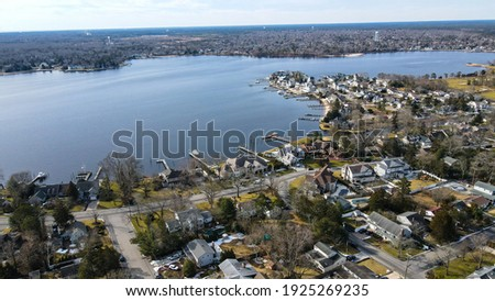 Ariel Photography Toms River New Jersey Foto stock ©