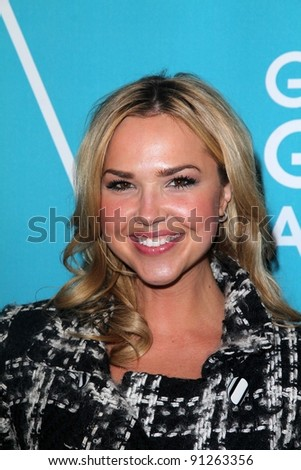 "Arielle Kebbel at A Night of Firsts"" 2012 Golden Globe Award Season Kick-off Party, Cecconi's, West Hollywood, CA 12-08-11"
