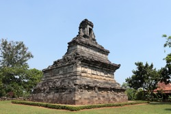 Arimbi temple in Jombang, East Java, indonesia.