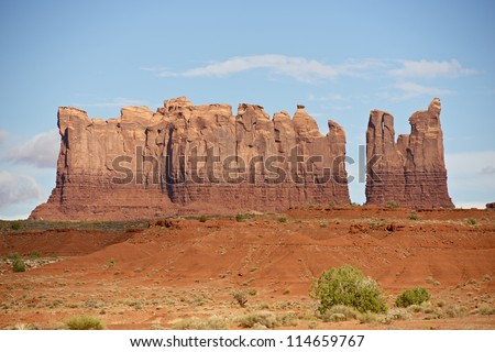 Arizona Landscape - Monument Valley Navajo Tribal Park. Summer in the Valley. Arizona Photography Collection.