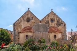 Arkadi Monastery on the Greek island of Crete