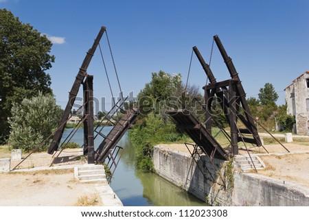 Arles - Le Pont Van Gogh - stock photo