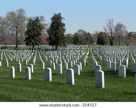 Arlington National Cemetary, Washington D.C. Zdjęcia stock ©