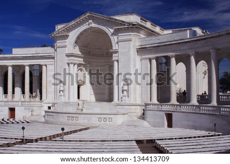 Arlington National Cemetery Memorial Amphitheater at Tomb of the Unknowns, Washington DC