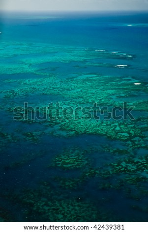 Arlington Reef Aerial View Great Barrier Reef