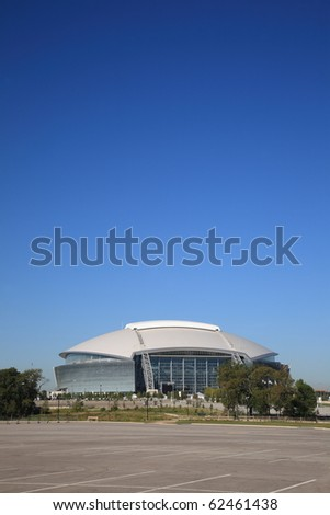 ARLINGTON, TEXAS - SEPTEMBER 28: Dallas Cowboy Field, home of the NFL Cowboys, on September 28, 2010 in Arlington, Texas. This state of the art facility opened in 2009, replacing Texas Stadium.
