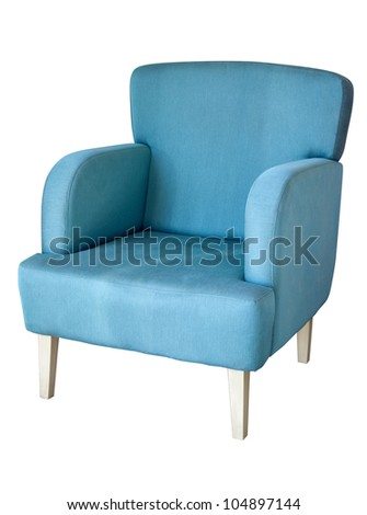 Arm chair isolated on white #104897144