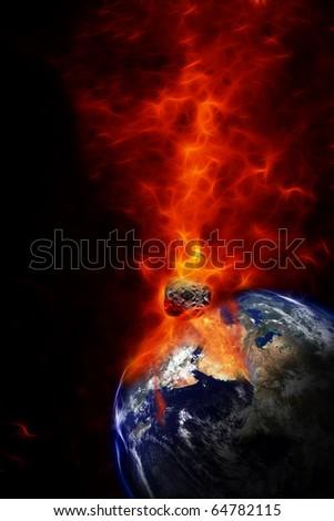 Armageddon - stock photo