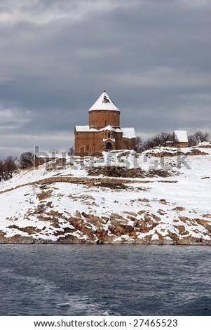 Armenian church at Akdamar Island, Turkey
