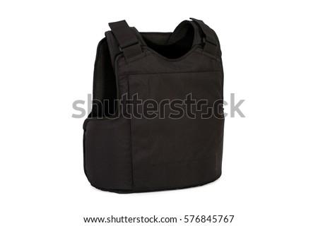 Armor vest isolated on white background Stock photo ©