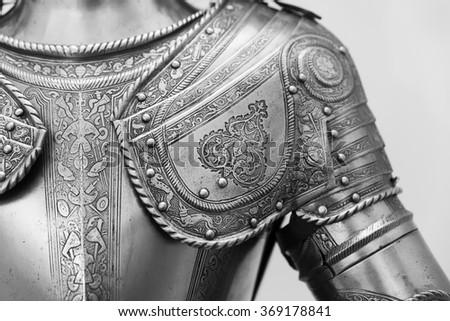 Armour of Prince. 16th century armour. Stock photo ©