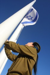 Army of Defense of Israel. Signs