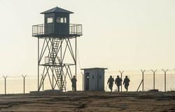 Army soldiers border patrol