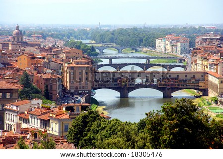 Arno River and Florence