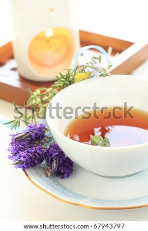 Aromatherapy and herb tea