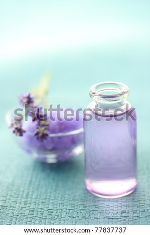 Aromatherapy oil and lavender