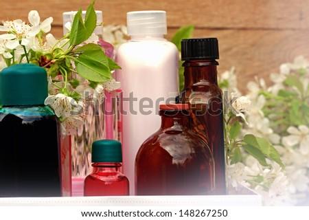Aromatherapy - Spa - stock photo