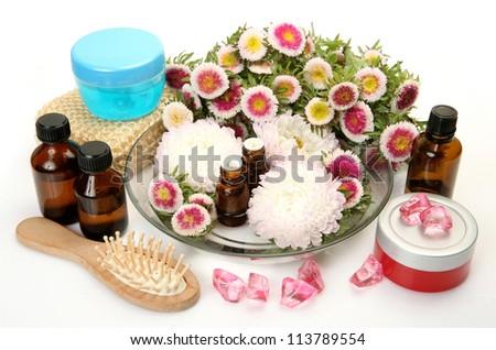 Aromatherapy, spa, massage