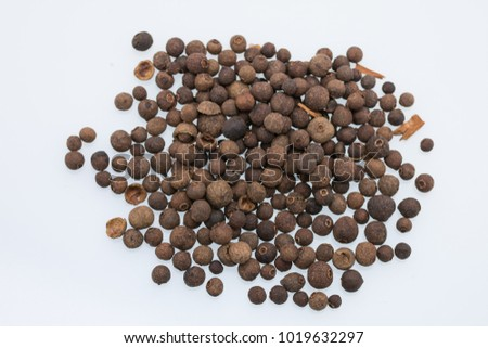 Aromatic allspice isolated #1019632297