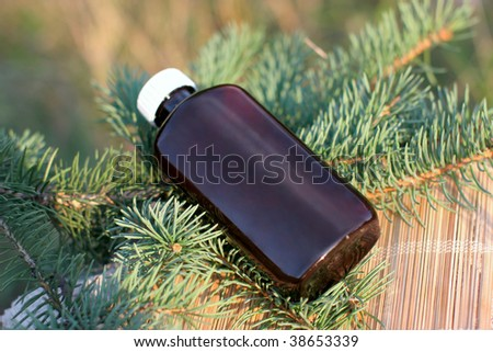 aromatic medical products from needles of a fir