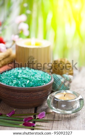 Aromatic Sea Salt for Spa