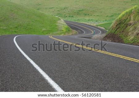 Around the Bend of the Highway