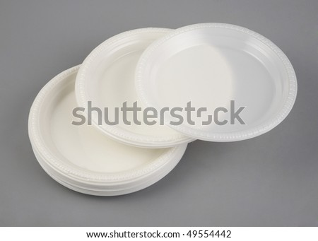 Arrangement of plastic plate.