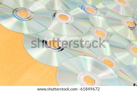 Array of Scattered Music CD-R's
