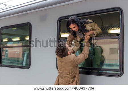 arrival by train #400437904