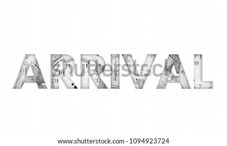 Arrival Clocks Timing Arrive Deadline 3d Render Illustration