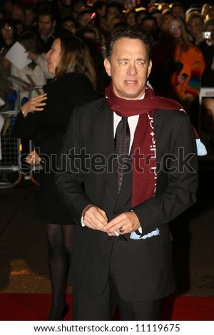 Arrivals at the European premiere of 'Charlie Wilson's War', at the Empire Cinema on January 9, 2007 in London, England Tom Hanks