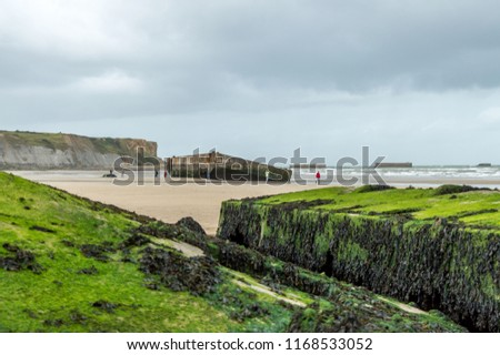 Arromanche Beach Normandy France