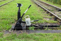 Arrow for switching the railway. Old arrow train. Old Railway arrows. Railways and arrow. railway arrow background.