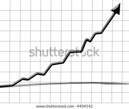 Arrow graph showing success