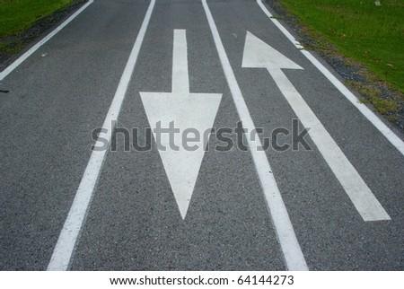 Arrow in both way