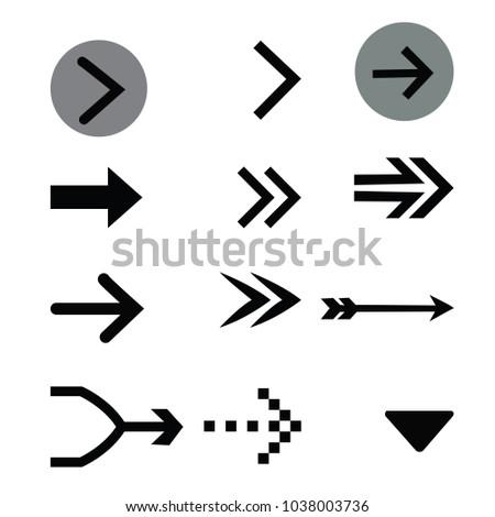 arrow set, many arrows in one set #1038003736