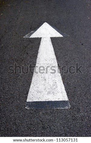Arrows, the road