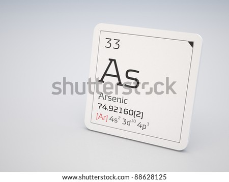 Arsenic - element of the periodic table
