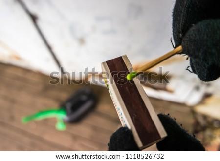arson attack crime scene Stock photo ©