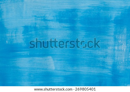 art abstract blue painted texture stock photo