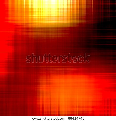 art abstract bright red and gold metallic background