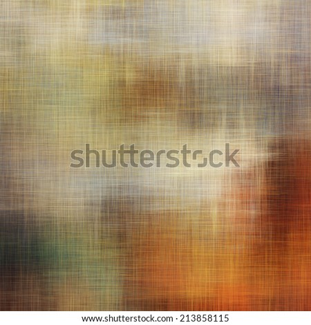 art abstract geometric pattern blurred beige background with white, grey, gold, orange and brown blots