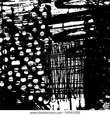 art abstract grunge graphic black and white background