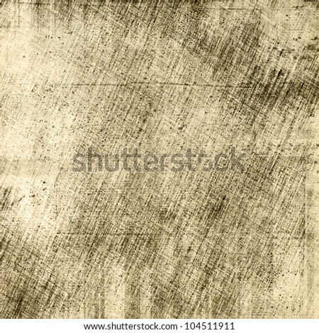 art abstract grunge paper textured graphic background in beige, grey and black colors