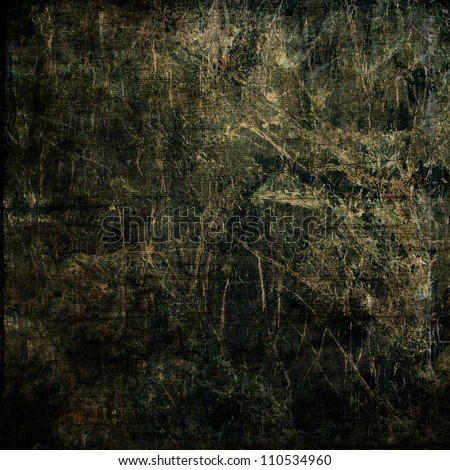 art abstract grunge textured black background