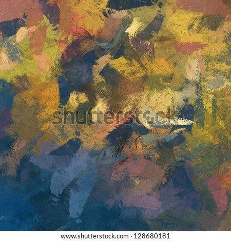 art abstract painted rainbow background