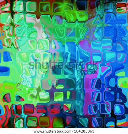 art abstract rainbow geometric pattern background