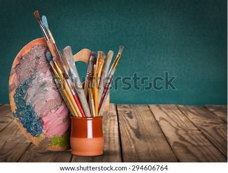 Art and Craft Equipment, Palette, Art.