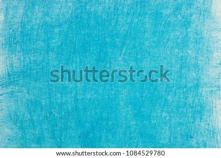 art blue color pastel crayon background texture #1084529780